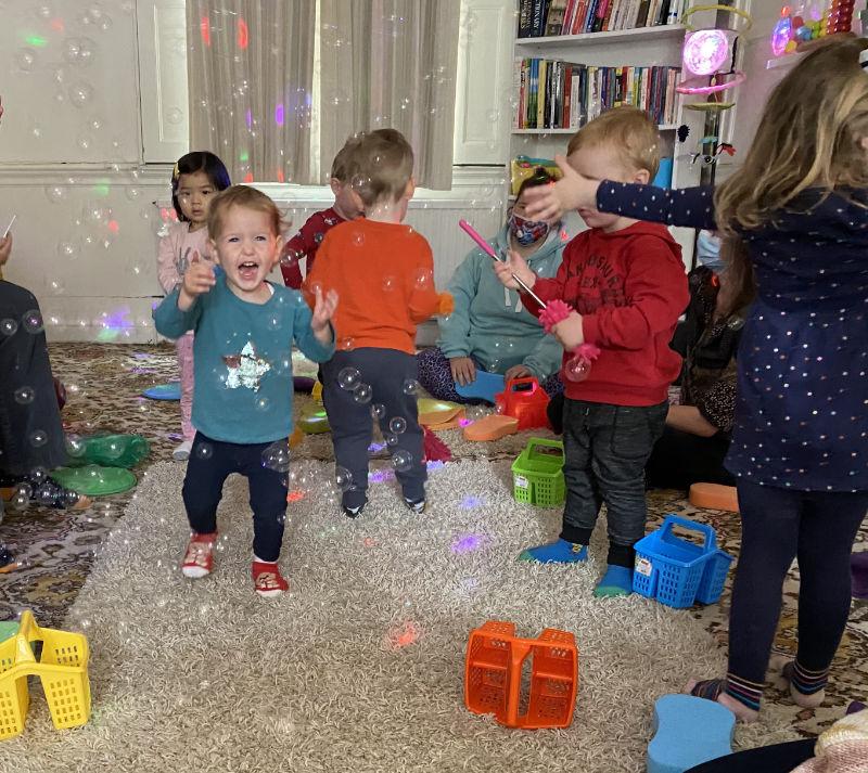 childrens music parties